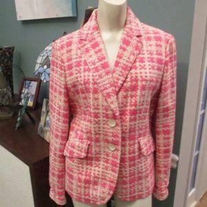 Ann Taylor NWT Pink Beige Blazer NWT 8